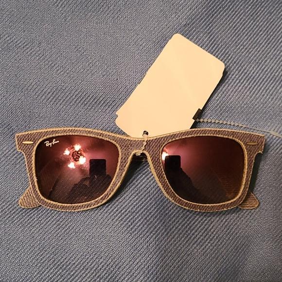 Denim purple 💜 Ray Ban sunglasses